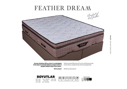 Feather Yaylı Dream Yatak